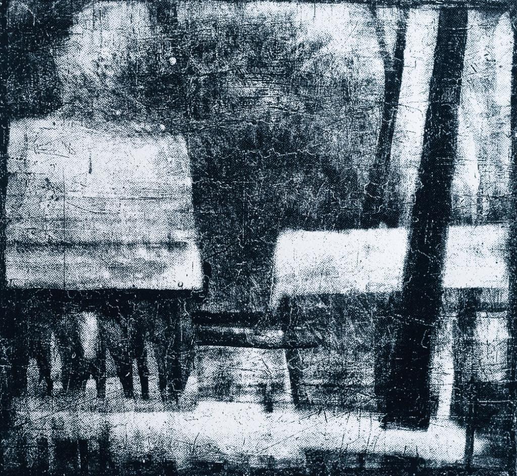 Mappe B – Frank Steenbeck, Zwei Hütten