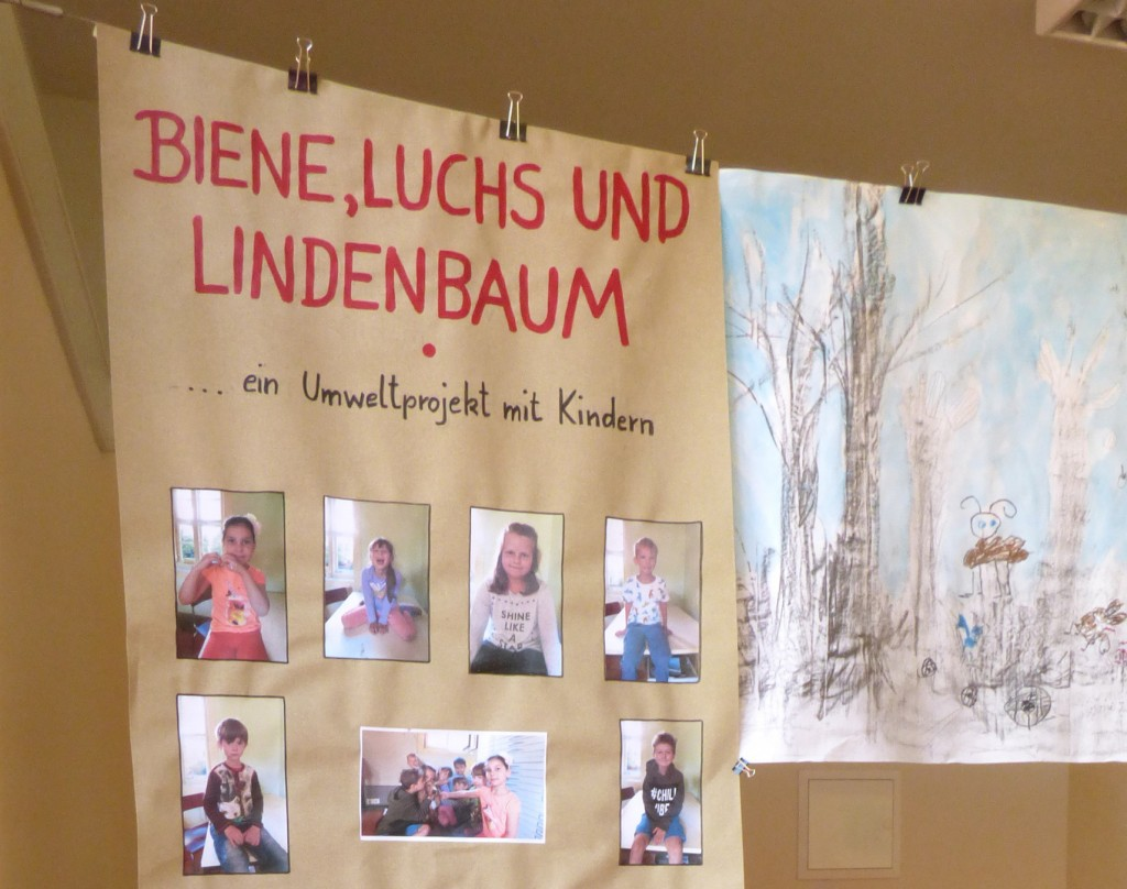 Ausstellung im AWO Kindergarten an der Ackerwand