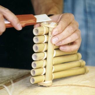 Flöte aus Bambus