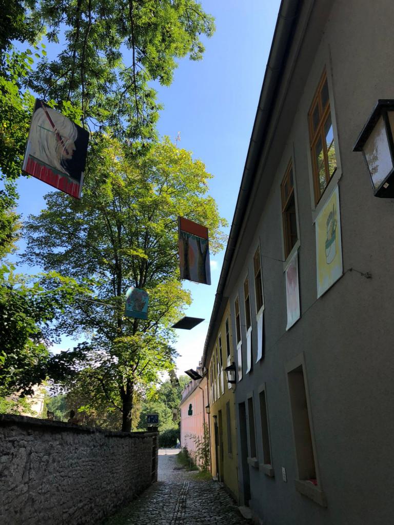 Fassadenbilder Malschule