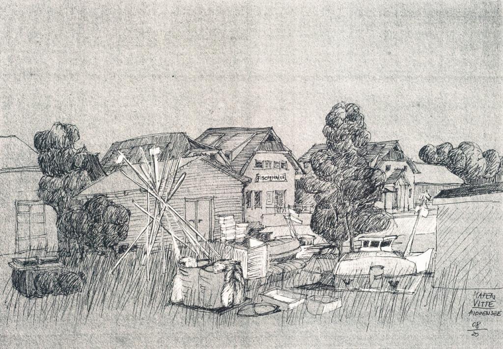 Mappe A – Dr. Luise Nerlich, Hafen Vitte, Hiddensee