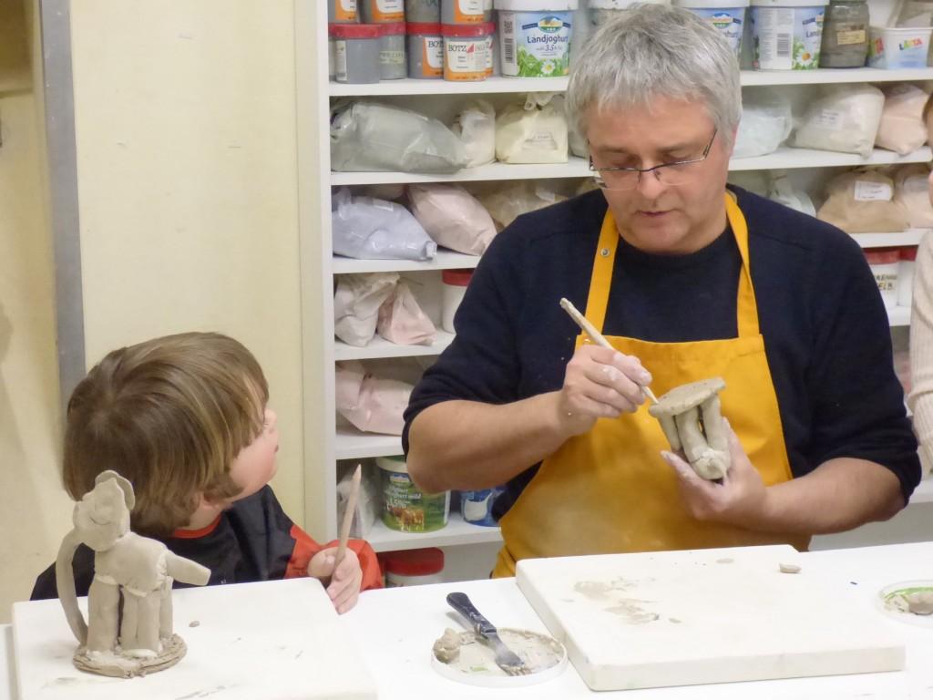 Keramik mit Frank Steenbeck